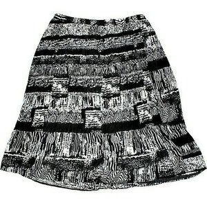 NWT Tanjay Textured Plus Size Skirt